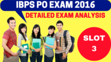 IBPS PO Exam Analysis Slot 3