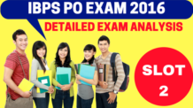 IBPS PO Exam Analysis Slot 2