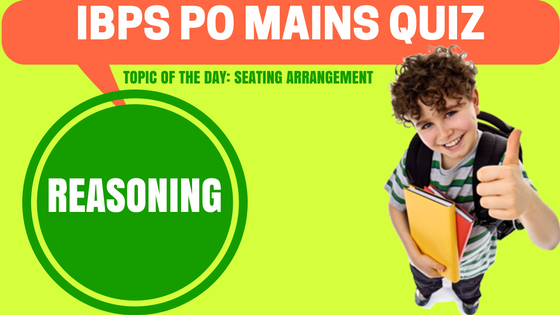 IBPS PO Mains Quiz Reasoning