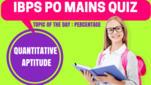 IBPS PO Mains Quiz Quantitative Aptitude 2
