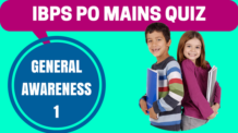 IBPS PO Mains Quiz General Awareness