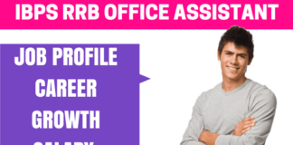 IBPS RRB Office Assistant Job Profile