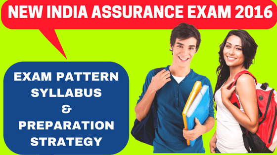 New India Assurance Exam Pattern