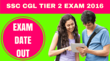 SSC CGL Tier 2 Exam Date