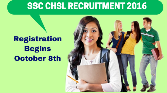 SSC CHSL Recruitment 2016