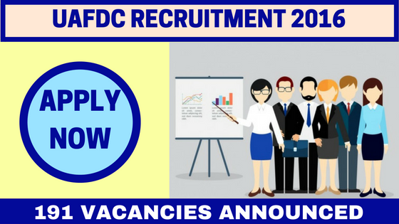 UAFDC Recruitment