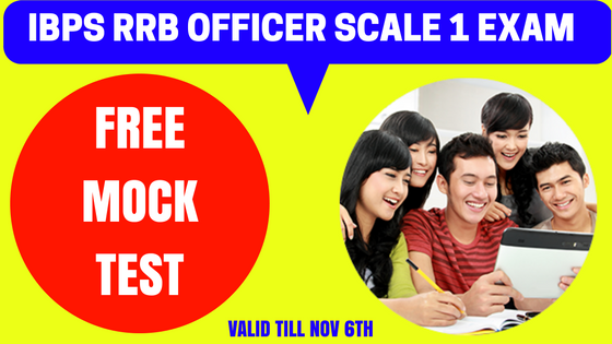 IBPS RRB Officer Scale 1 Free Mock Test