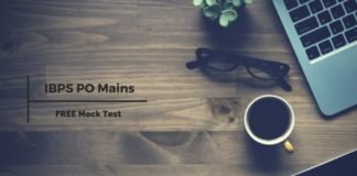 FREE Mock Test IBPS PO Mains