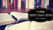 IBPS Clerk Exam Analysis