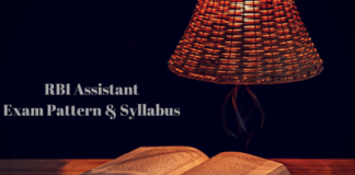 RBI Assistant Exam Pattern & Syllabus