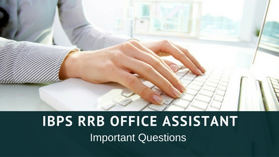 IBPS RRB Office Assistant Expected Questions