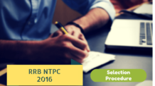 RRB NTPC Selection Procedure