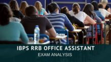 IBPS RRB office Assistant Exam Analysis