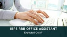 IBPS RRB Office Assistant Cutoff 2016