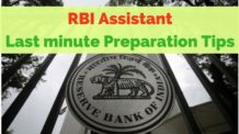 RBI Assistant Last minute preparation tips