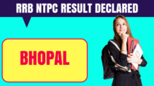 RRB NTPC Bhopal Result