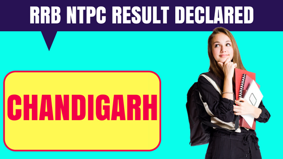 RRB NTPC Chandigarh Result