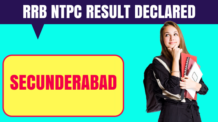 RRB NTPC Secunderabad Result