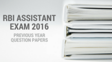 RBI Assistant Previous Year Papers