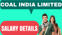 Coal India Limited Salary Details