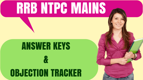 RRB NTPC Answer Keys