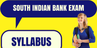 South Indian Bank Syllabus