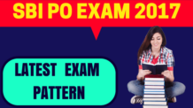 SBI PO Exam Pattern 2017