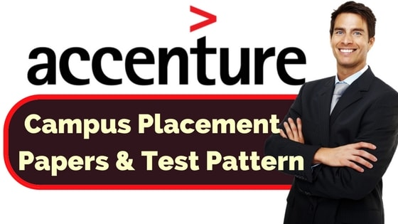 Accenture Placement Papers and Test Pattern