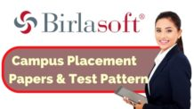 Birlasoft Placement Papers and Test Pattern