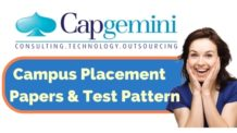 Capgemini Placement Papers and Test Pattern