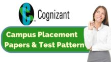 Cognizant Placement Papers & Test Pattern for Placement session 2017