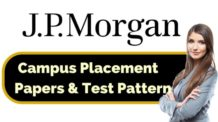 JP Morgan Placement Papers & Test Pattern