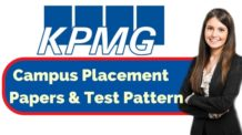 KPMG Placement Papers & Test Pattern