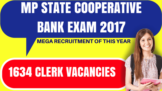 MP State Cooperative Bank Exam