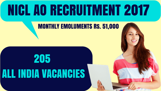 NICL AO Recruitment