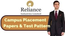 Reliance Industries Placement Papers & Test Pattern