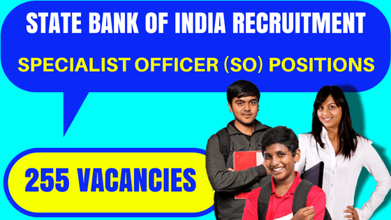 SBI Recruitment 2017