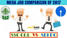 SSC CGL vs SBI PO