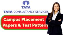 TCS Placement Papers and Test Pattern