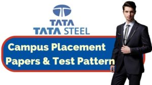 Tata Steel Placement Papers & Test Pattern