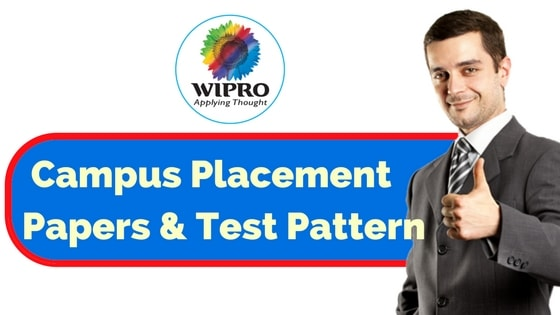 Wipro Placement Papers and Test Pattern