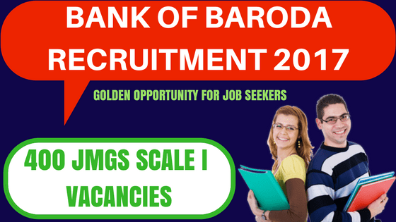 BOB Recruitment 2017
