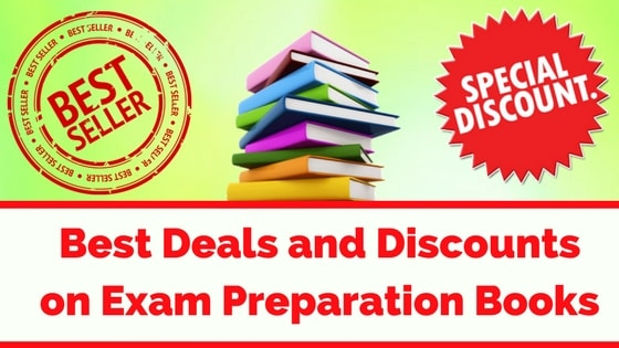 Best Deals and Discounts on Exam Preparation Books-min