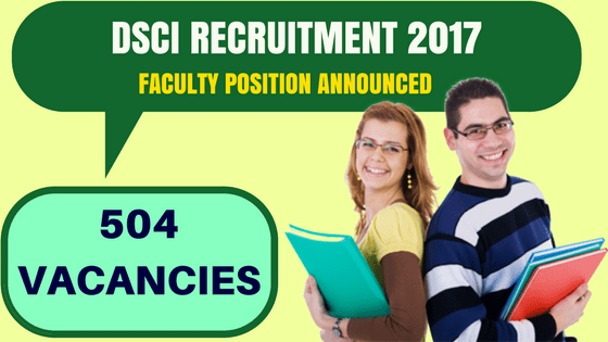 DSCI Recruitment