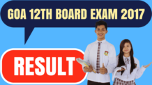 Goa 12th Result