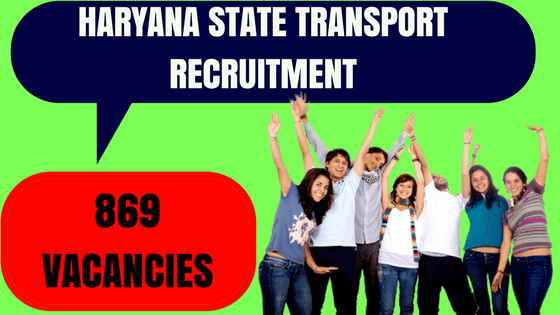 Haryana State Transport Recruitment