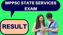 MP State Services Exam Result