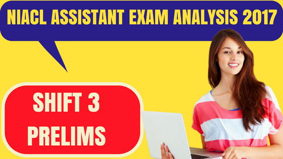 NIACL Assistant Analysis 2017