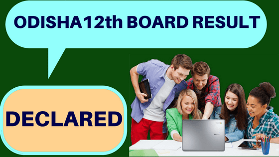 Odisha 12th Result