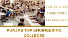 PUNJAB TOP ENGINEERING COLLEGES